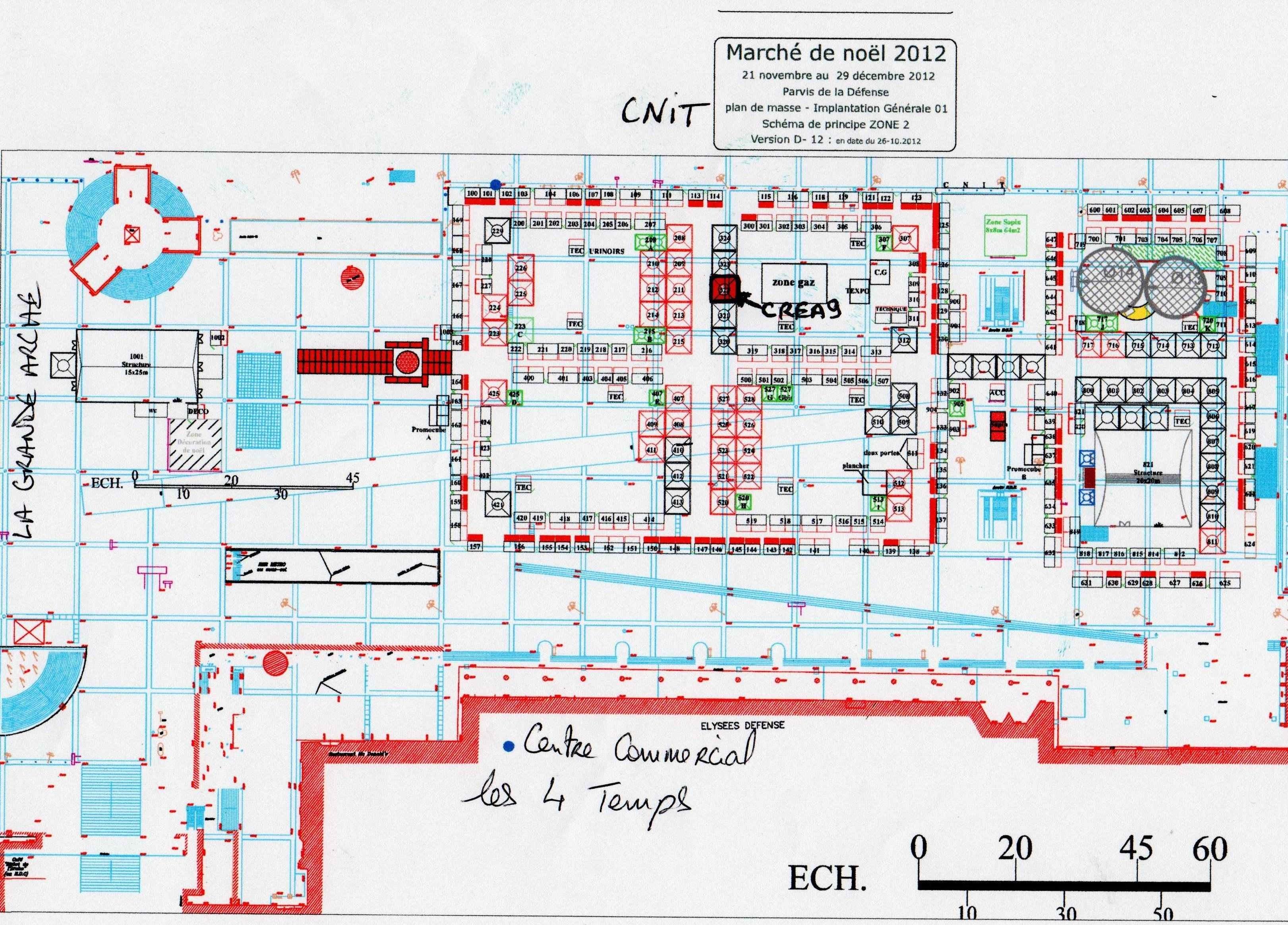 Crea9 plan marche noel defense crea9 - Marche de noel paris defense ...
